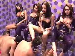 Lusty shemales spoils amateur guys from sexmv.com