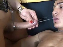 Tranny gives assbanging to cute man from sexmv.com