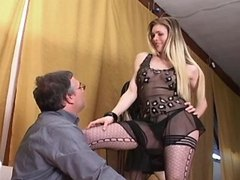 Beautiful trans model seducing dude from sexmv.com