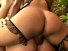 shemale ass porn from Tranny Sandwich