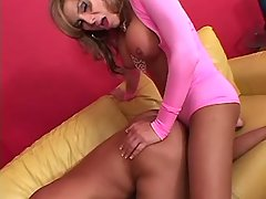 Shemale screws guy in tight asshole from shemalehotties.com