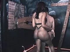 Small black tgirl humiliates to guy from shemalehotties.com