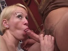Playful tranny sucks cockloving guy from thebestshemales.com