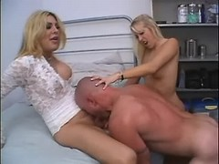 Bloke dominated by tranny with girl from thebestshemales.com