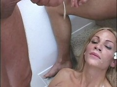 Tranny gets fucking n cum from guys from thebestshemales.com