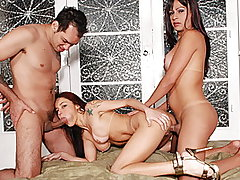 Horny Wife Fucked By Husband And Tranny from Tranny Banged My Wife