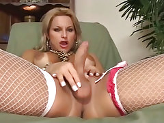 Carla renata lets a younger man enjoy her mature holes from Cum Filled Trannys